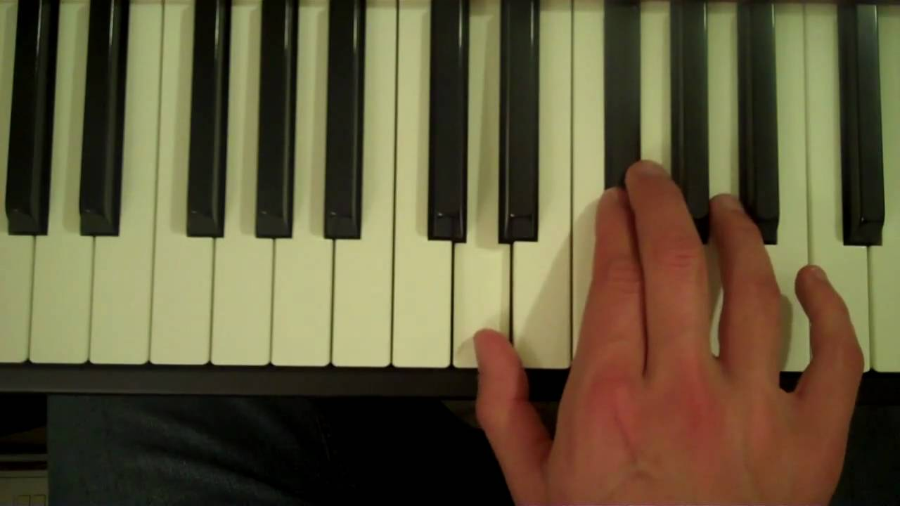 How To Play A D7 Chord On The Piano Youtube