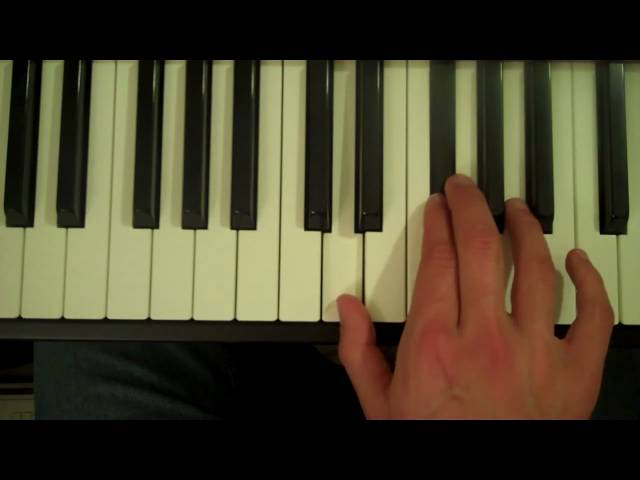 How To Play a D7 Chord on the Piano - YouTube