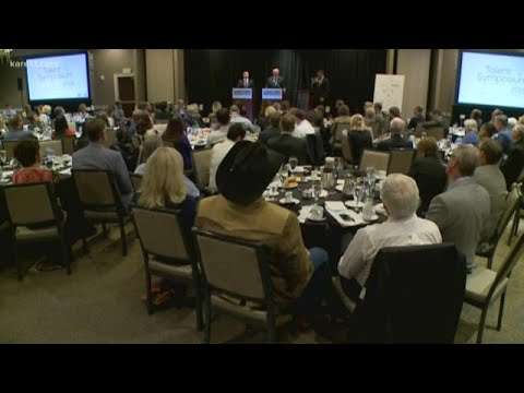 Minnesota candidates for governor Tim Walz, Jeff Johnson debate