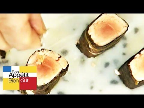 saumon-à-l'oseille-à-la-vapeur