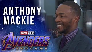 Anthony Mackie talks Falcon's fate LIVE at the Avengers: Endgame Premiere
