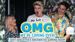 Joey Graceffa's Enchanted Gaming Room Makeover! | OMG We're Coming Over