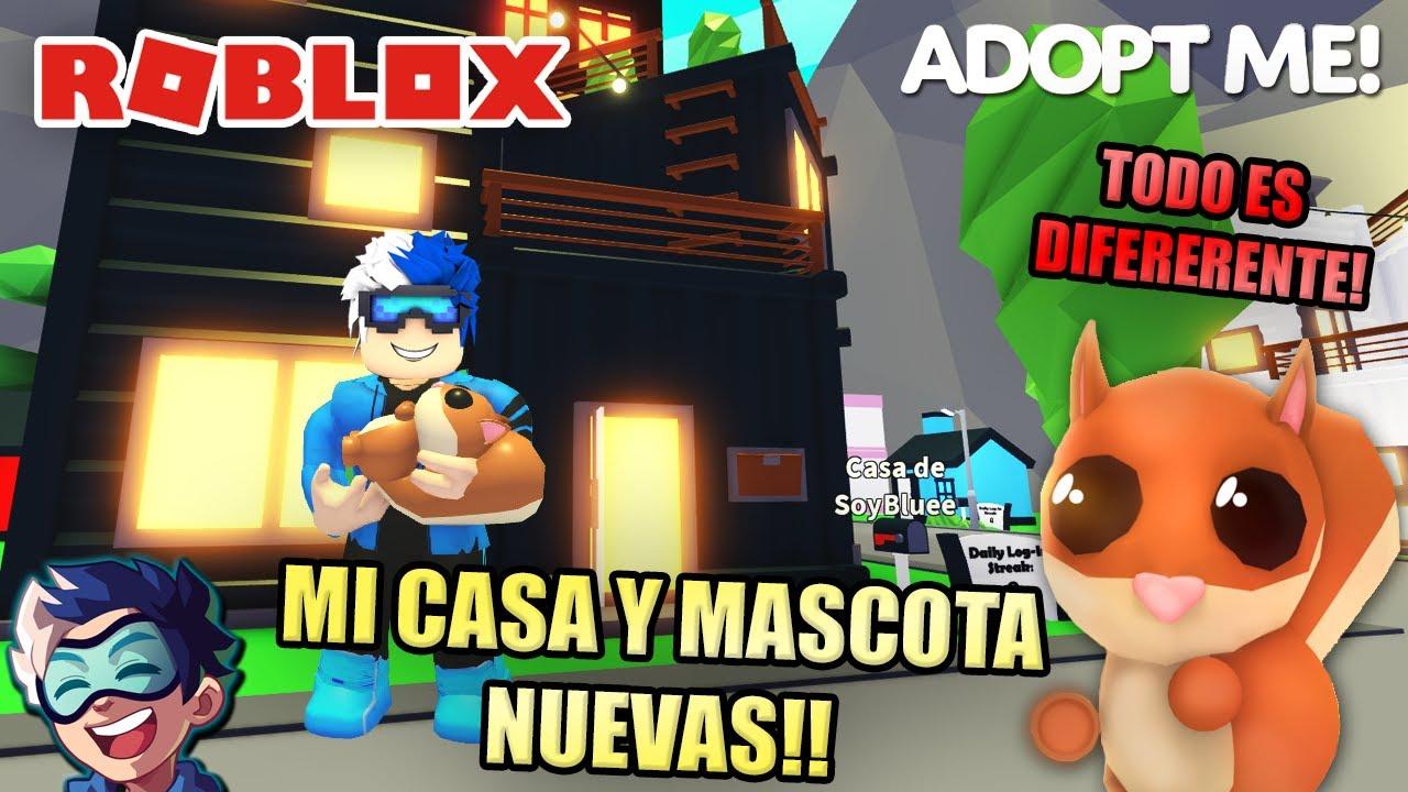 MI NUEVA CASA Y MASCOTA! EL CASTILLO FLOTANTE ACTUALIZACIÓN!   Soy Blue   Roblox Español