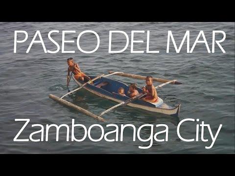 Paseo del Mar, Zamboanga City Travel Video  (SAMSUNG NX200)