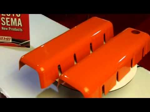 Holley LS Coil Covers, Big Block Chevy Replica ID10218