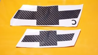 видео Шильдики, наклейки, эмблемы