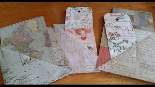 DIY - Paper Pockets | Fast & Easy!!!