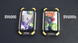 ID Comparison BV6000s VS BV6000, best selling IP68 rugged smartphone