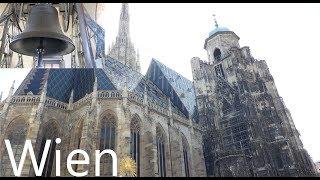 Wien (A-W) Die Pummerin des Stephansdomes aus zwei Perspektiven (Turmaufnahme)