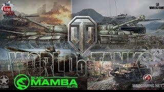 ------WoT GamePlay----- jogando com Tier Vlll e X ( V.N.S )