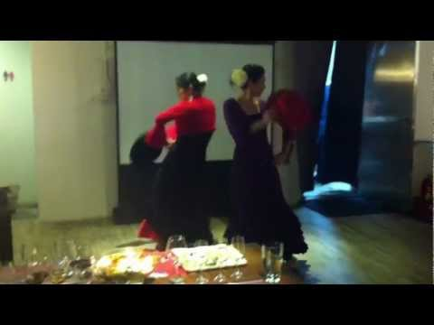 2012.11.23 - Yllera Tasting Wine and Flamenco Dancing (3)