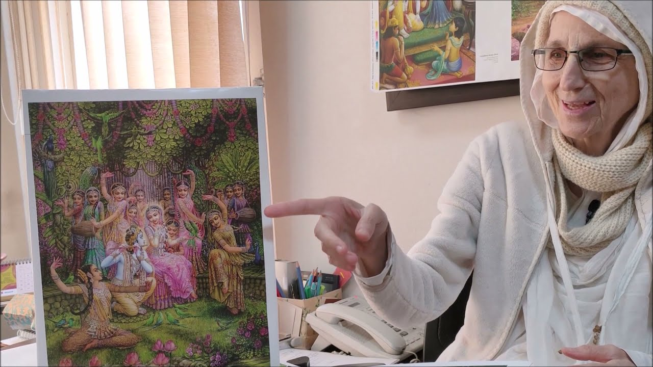 When Shiva Tried to Murder Radha Rani's Most Dear Parrot !!! Story By Syamarani Devi Dasi