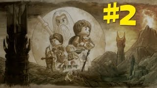 Lego Lord of the Rings Gameplay Walkthrough - (The Black Rider Part 1) Part 2 (PS3/X360/PC)