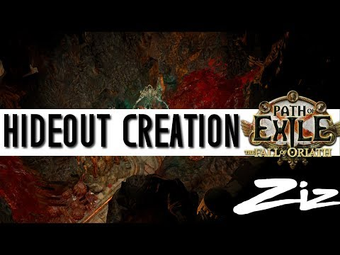 Path of Exile - Hideout Creation - Heaven / Hell Elreon Hideout
