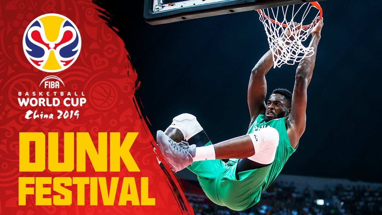 China and Nigeria traded DUNKS all game long!