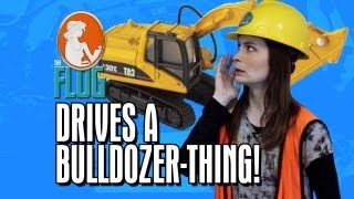 Felicia Day Drives a MotherF&#%&# BULLDOZER-THING! The Flog - Ep 10