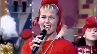 "Xuxa cantando ""I Love You Xuxu"" no Xuxa Park exibido em 28 de agost..."