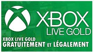 [PATCHE] TUTO | XBOX LIVE GOLD GRATUITEMENT ET LÉGALEMENT XBOX 360/ONE