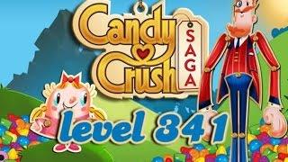 Candy Crush Saga Level 341 - ★★★ - 91,380