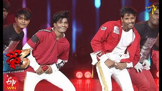 Prasad & Raju Performance | Dhee 13 | Kings vs Queens | 28th April 2021 | ETV Telugu