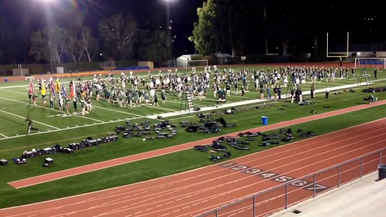 Msu Spartan Marching Band Occidental College Practice December