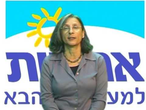 בחירות 2009 - אחריות - נעמי כהן-טל