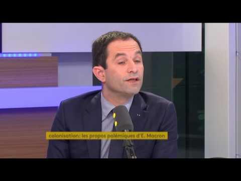 A propos de Macron sur la Manif' pour tous : réaction de Benoît Hamon