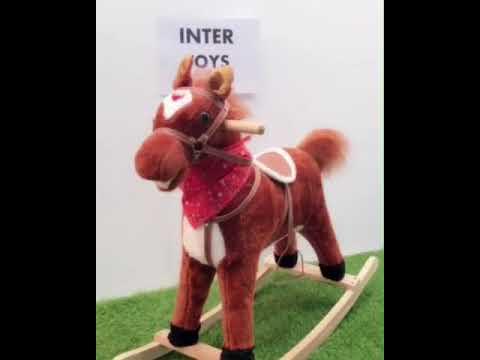 ม้าโยก Woody Brown รหัส H-1018