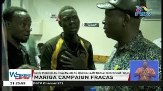 Kibra By-election: McDonald Mariga's campaign vehicle damaged, several injured