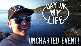 fett playstation event i gruver   a day in my life   norsk vlog