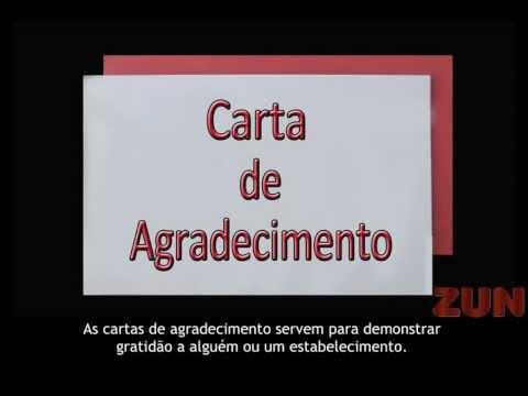 DICAS PARA UM MODELO DE CARTA DE AGRADECIMENTO
