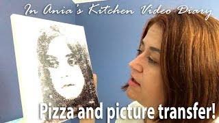 Ania's Video Diary - Pizza and picture transfer - Daily Vlog