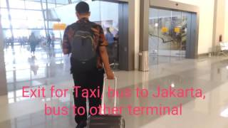 Soekarno-Hatta International Airport Jakarta | Terminal 3 Ultimate | Domestic Arrival