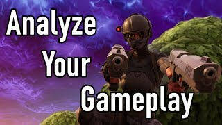 How to Learn from your mistakes - Analyze your gameplay - Fortnite BR