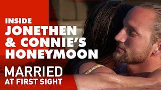 Connie And Jonethen Grow Their Romantic Connection On Their Honeymoon | Mafs 2020
