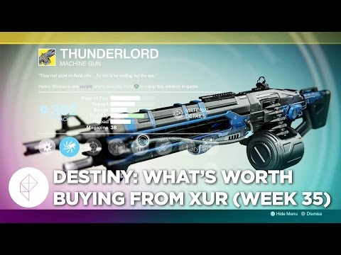 Here's what's worth buying from Destiny's Xur, May 8 - 10