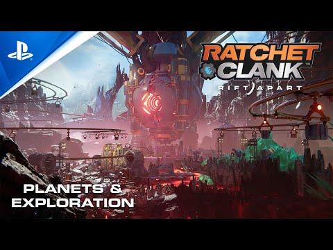 Kolla in planeterna från Ratchet & Clank: Rift Apart Samt inställningarna som gör det mer lättillgängligt
