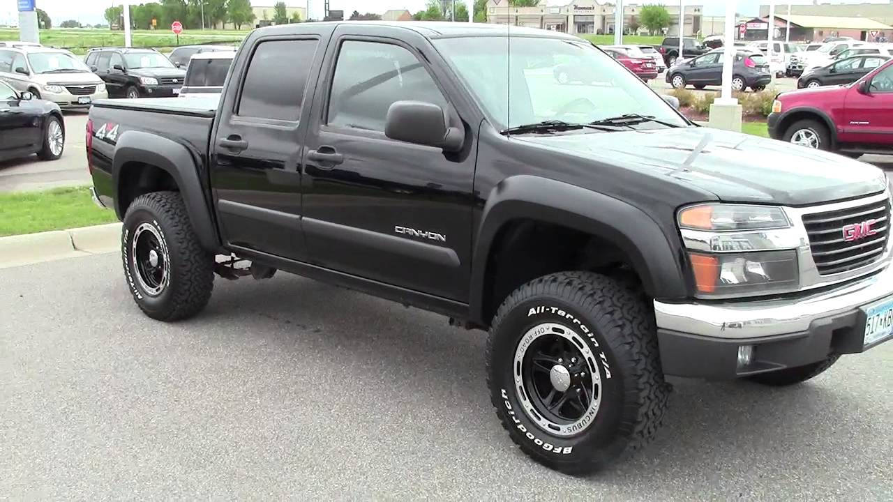 2005 Gmc Canyon Crew Cab 4wd Sle Youtube