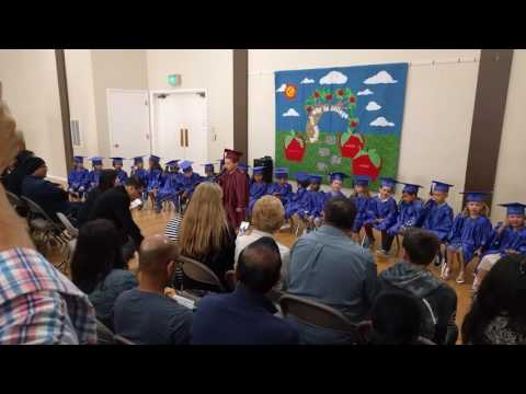 Luke's Graduation at Beresford Montessori