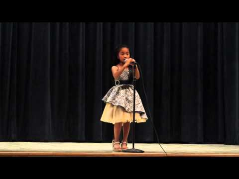 7 Year Old Madison Palafox @ Calabash Charter Academy Talent Show 2014