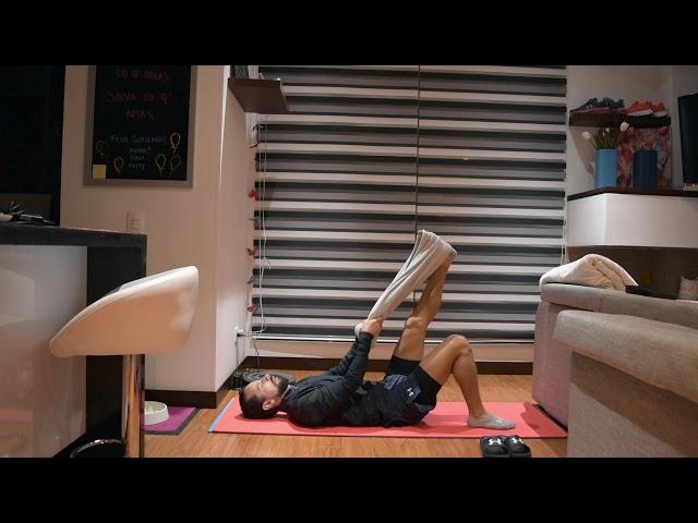 Ejercicio en casa Flexibilidad - Pedialyte 30 con Andrés Ramirez