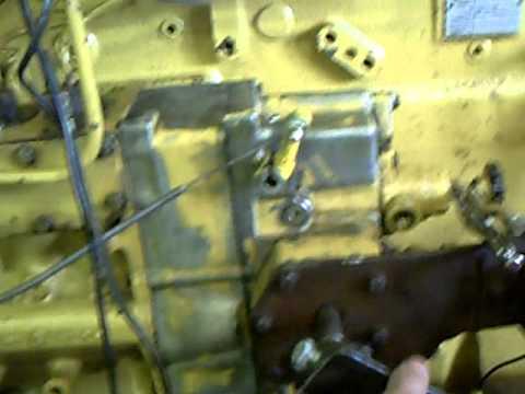 3406 cat diesel engine dissasemble part 2 ( running! )  YouTube