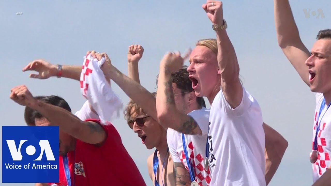 World Cup: Croatia Get Heroes' Welcome