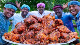 Download FULL CHICKEN ROAST | Whole Fried Chicken Recipe Cooking in village | Free Range Chicken Recipe
