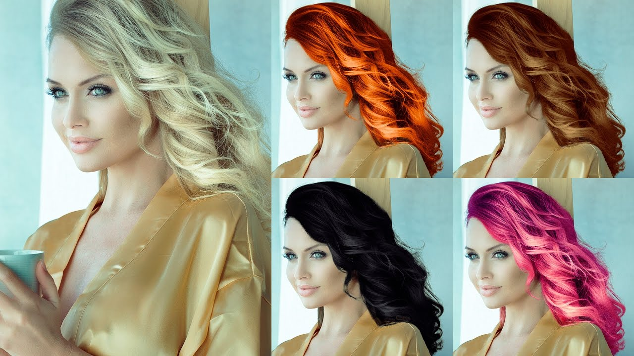 change hair style photo editor how to change hair color to other colors 6790