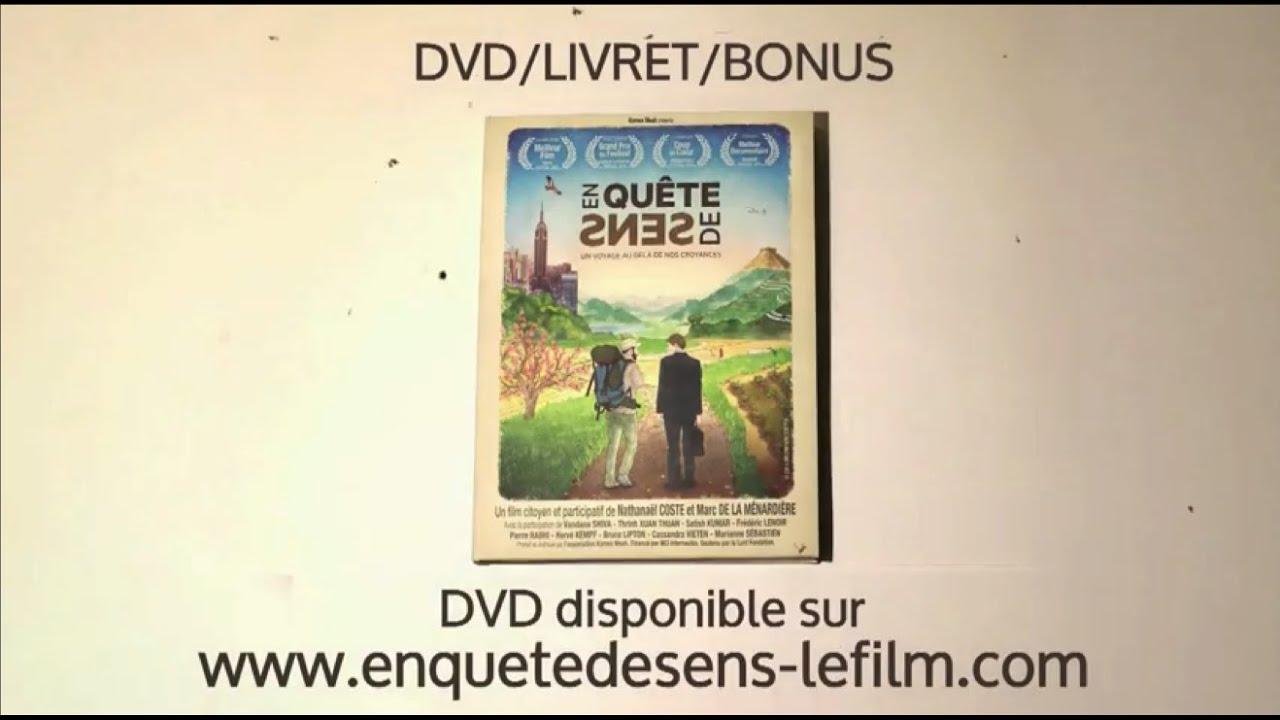 En Quête de Sens en DVD !