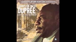 Champion Jack Dupree  -  Black Wolf Blues  -  2 versions