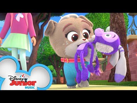 Bunny Monkey Song Music Video Puppy Dog Pals Disney Junior Youtube