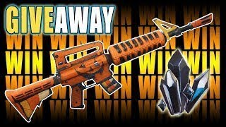 [106 GOD ROLL GRAVE DIGGER GIVEAWAY] Fortnite - Save The World