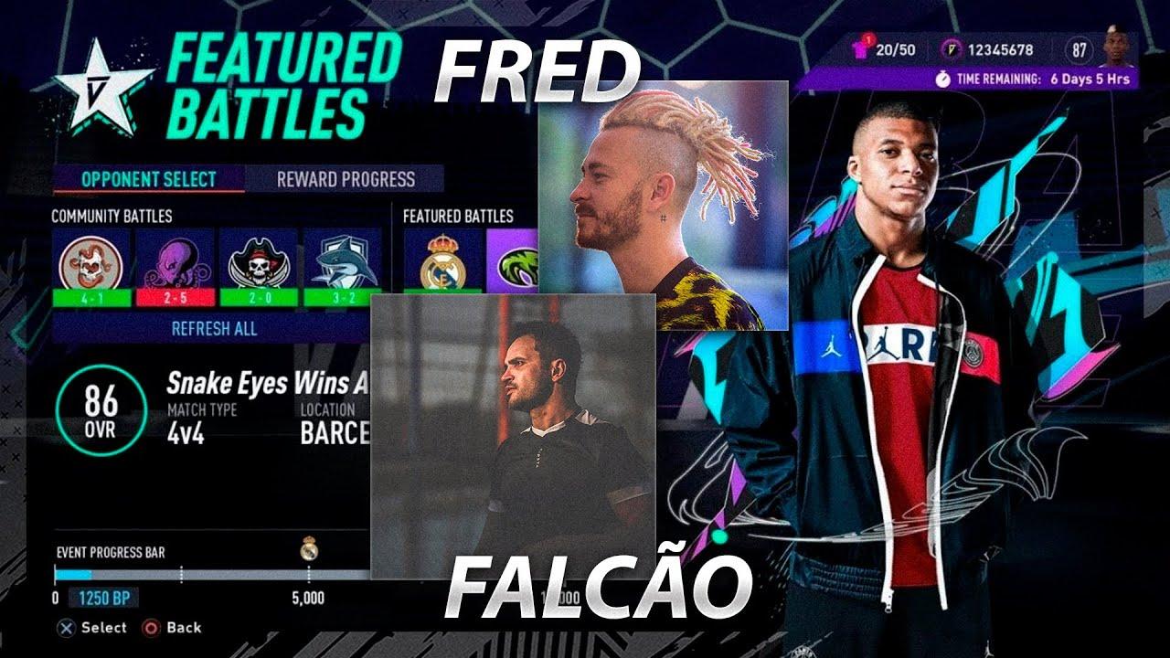 FRED E FALCÃO NO MODO VOLTA DO FIFA 21!? VOLTA 21 VAI SER MAIS ATRAENTE QUE O VOLTA 20!